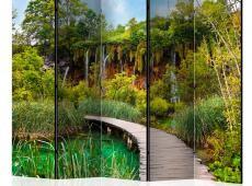 Paraván - Green oasis II [Room Dividers]